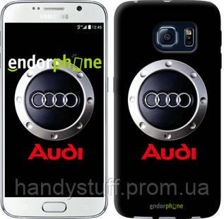 "Чехол на Samsung Galaxy S6 G920 Audi. Logo v2 ""3105c-80"""