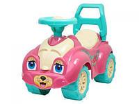 Автомобиль для прогулок «Котик» (розовый)
