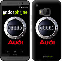 "Чехол на HTC One M9 Audi. Logo v2 ""3105u-129"""
