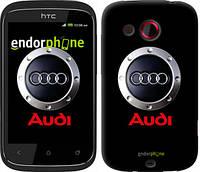 "Чехол на HTC Desire C A320e Audi. Logo v2 ""3105u-225"""