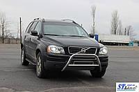 Защита переднего бампера (кенгурятник)  Volvo XC-90 (2008-13)