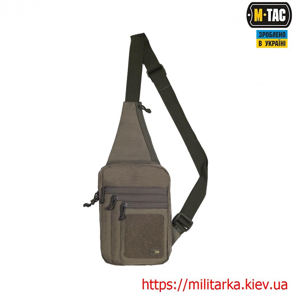 M-Tac сумка-кобура наплечная Elite с липучкой Olive