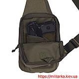 M-Tac сумка-кобура наплечная Elite с липучкой Olive, фото 2