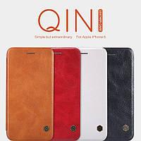 "Кожаный чехол (книжка) Nillkin Qin Series для Apple iPhone 6/6s (4.7"")"