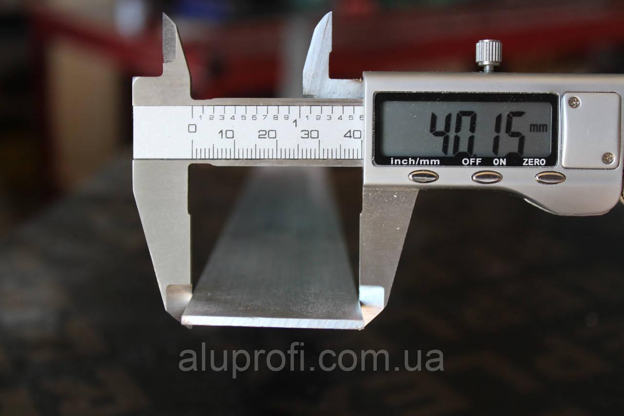 Полоса алюминиевая 40х2мм АН15