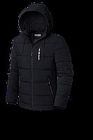 Мужская черная зимняя куртка (р. 48-56) арт. 8808А