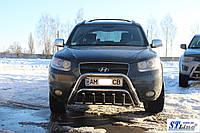 Защита переднего бампера (кенгурятник)  Nissan Qashqai с 2006…