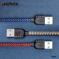 Дата кабель Remax (Nylon) lightning для Apple iPhone 5/5s/5c/SE/6/6 Plus/6s/6s Plus /7/7 Plus 1m