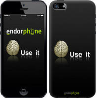 "Чехол на iPhone 5 Use it ""207c-18"""