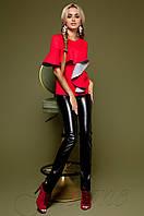 Женский красный свитшот Мотикс Jadone Fashion 42-48 размеры
