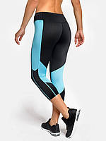 Женские компрессионные капри Peresvit Air Motion Women's Capri Black Aqua