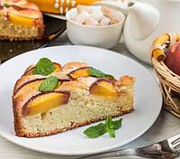 Персиковый пирог с амаретто