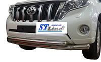Кенгурятник  Toyota Prado 150 (2009-) / ус двойной