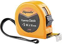 Рулетка Classic, 2 м х 13 мм, пластиковый корпус// SPARTA