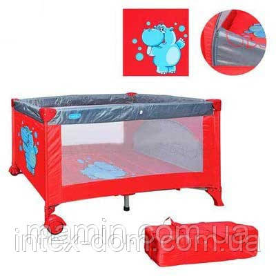 Детский манеж-кровать Вамbі М 0819