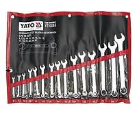 Набор ключей комбинированных YATO YT-0065 (15 предметов)