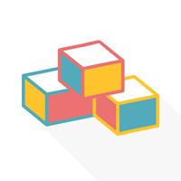 Пластмасові та м'які кубики