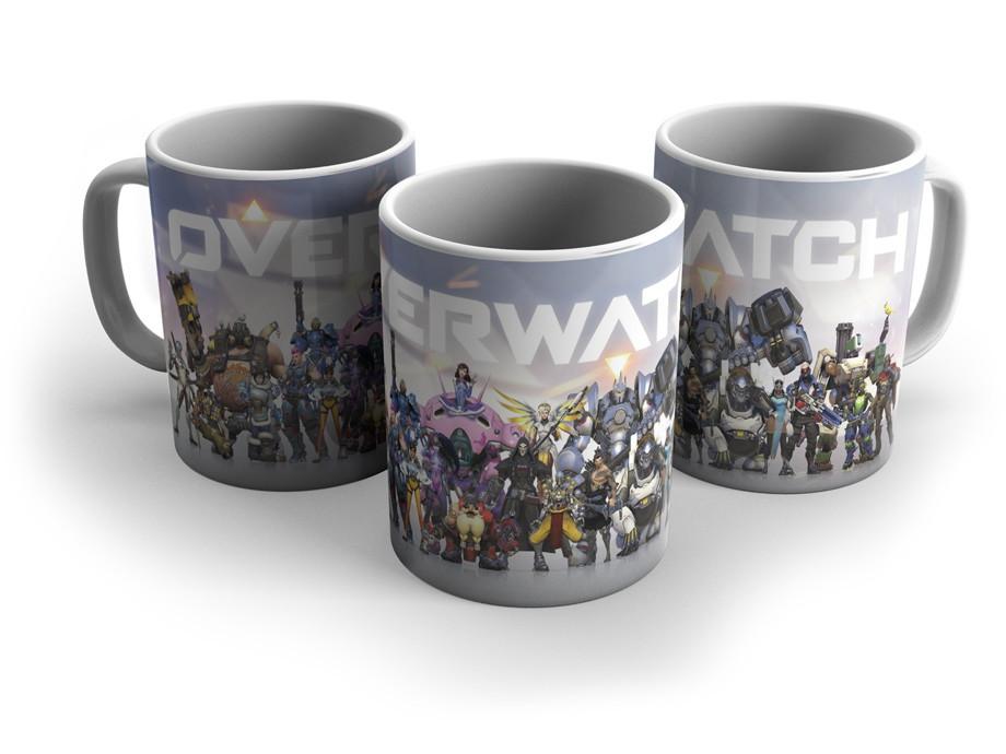 Чашка Овервотч Overwatch # 2 белая
