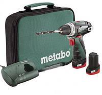 Аккумуляторная дрель-шуруповерт Metabo PowerMaxx BS Basic (600079550)