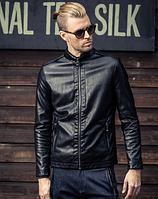 Мужская кожаная куртка. Модель 6168