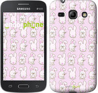 "Чехол на Samsung Galaxy Core Plus G3500 Зайчики на розовом фоне ""239u-359"""