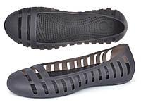 Балетки женские кроксы Women's Adrina II Flat черные