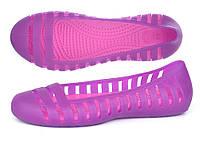 Балетки женские кроксы Women's Adrina II Flat фиолетовые