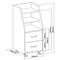 Шкаф для хранения SS15 FunDesk White, фото 3