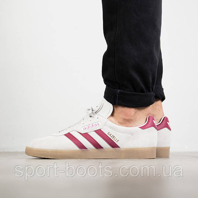 adidas Originals Gazelle Stitch and Turn (schwarz weiss) (EU 42 US 8.5)