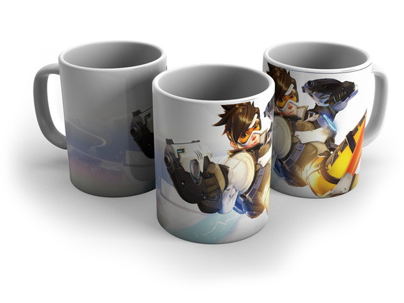 Чашка Овервотч Overwatch # 3 белая