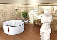 Акриловая ванна PoolSpa Atlantyda 160 x 160