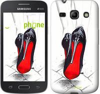"Чехол на Samsung Galaxy Core Plus G3500 Devil Wears Louboutin ""2834u-359"""