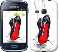 """Чехол на Samsung Galaxy Young S6310 / S6312 Devil Wears Louboutin """"2834u-252"""""""