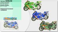 Мотоцикл инерц 6658/59 (10/3) (108шт/2) в пакете 28*14*7,5см