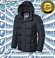 Пуховик Braggart - 2045#2046 темно - серый