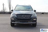 Кенгурятник Mercedes ML 164 (05-11) - ус одинарный