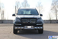 Кенгурятник  Mercedes GL (06-12) - ус двойной