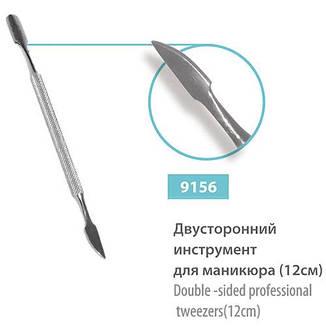 SPL Лопатка 9156 инструмент для маникюра 2х-сторон. 120мм, фото 2