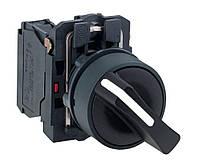 Двухпозиционный переключатель XB5AD21 с клювиком в сборе, с фиксацией, IP66. Schneider Electric