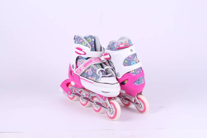 162138761a8095 Кеды-Ролл Suxfly 9003 розовые: продажа, цена в Одессе. роликовые ...