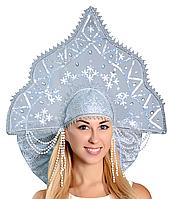 Кокошник Метелица взрослый карнавальный костюм