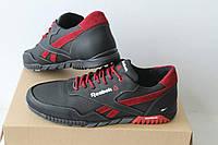 Мужские кроссовки Reebok черно красные