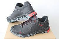Мужские кроссовки Merrell черные с красным