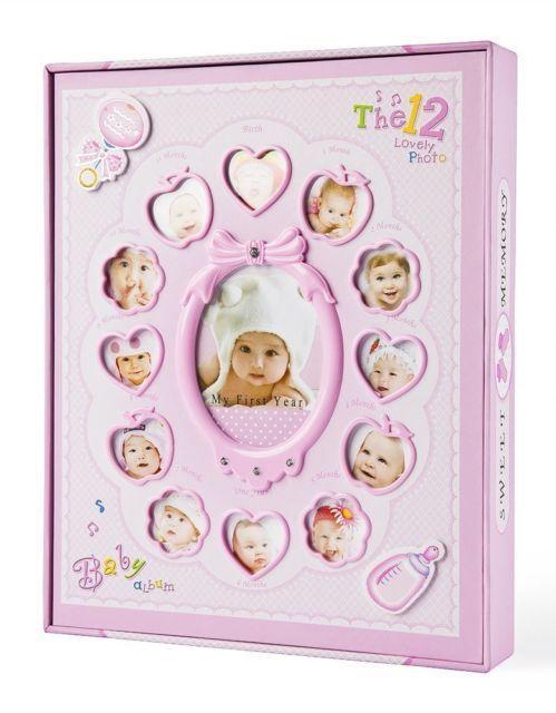 Фотоальбом детский BАBY для девочки 240 фото