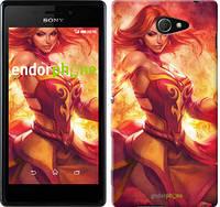 """Чехол на Sony Xperia M2 D2305 Dota 2. Lina 2 """"988c-60"""""""