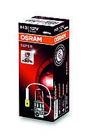 Автолампа галогеновая OSRAM H3 12V 55W PK22S / SUPER - НА 30% БОЛЬШЕ ОСВЕЩЕННОСТЬ ДОРОЖНОГО ПОЛОТНА