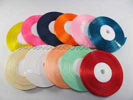 Лента тканевая, бирюзовый цвет