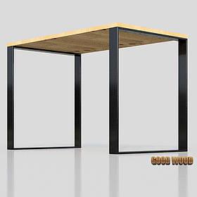 Стол Ст-1 (Ш 1200мм) ,черный или белый, из дерева и металла