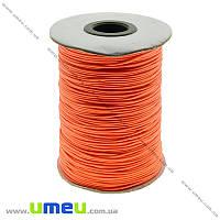Полиэстеровый шнур, Оранжевый яркий, 1,0 мм, 1 м  (LEN-021734)