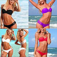 Купальник бандо push-up реплика Victoria's Secret 4 цвета